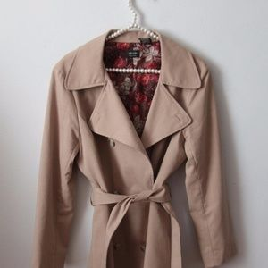 Nicole Miller Coat with Belt Size 12 Career Church